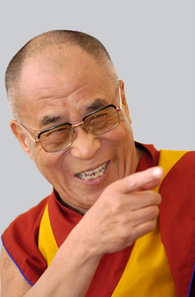 The Dalai Lama In New Orleans