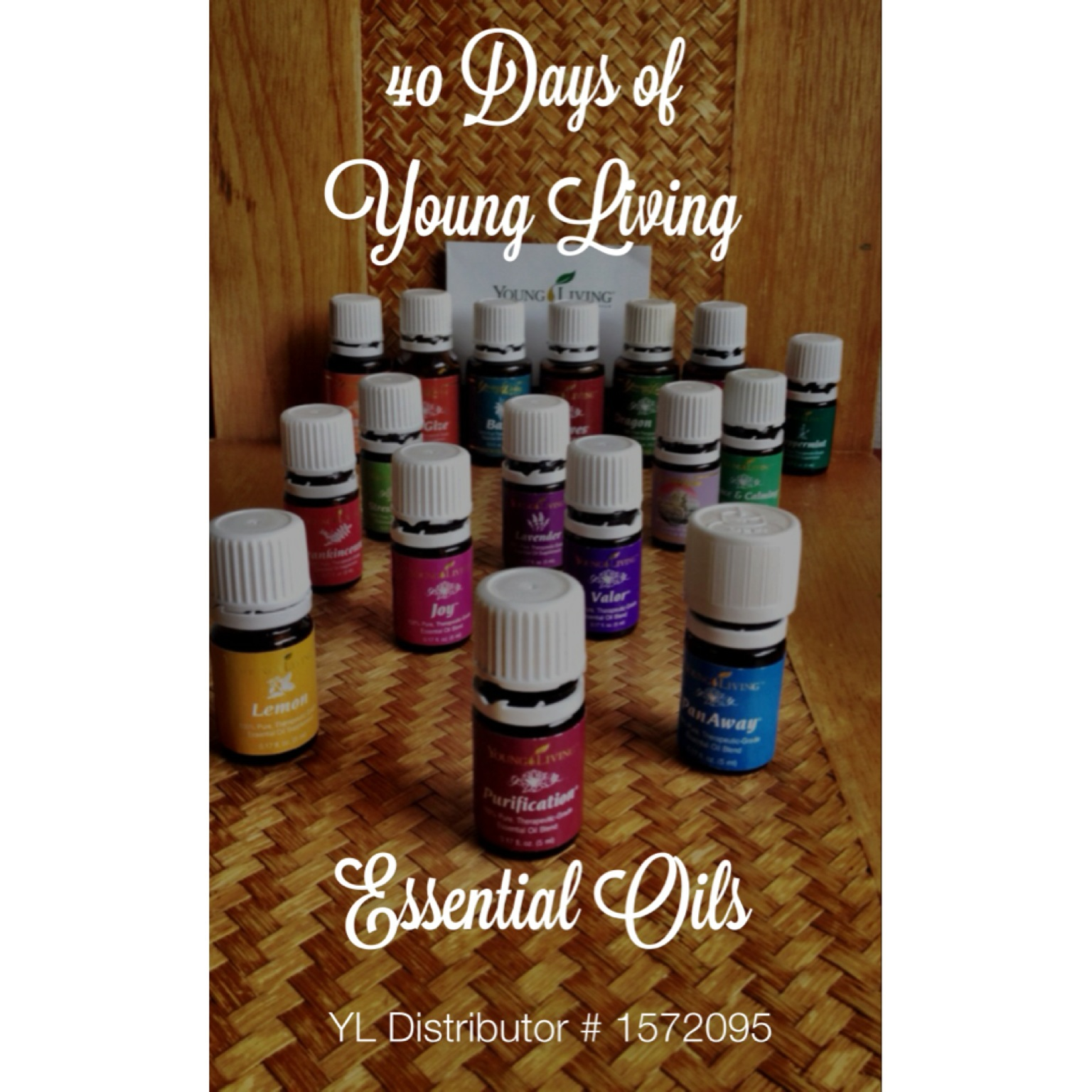 40 Days of Young Living Essential Oils