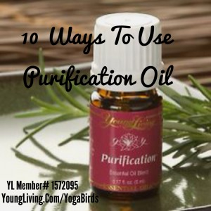 Day 3: Purification Oil