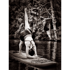 Dolphin Pose. Fish River, Alabama, August 2015. Photo: LBuffett & MBuffett