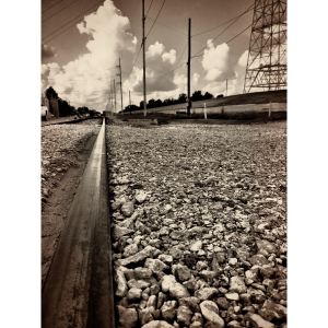 River Road Train Tracks, New Orleans, August 2015. Photo: MBuffett