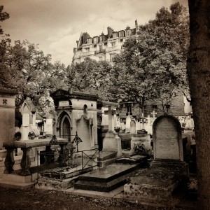Montparnasse Cemetery. Paris, September 2015. Photo: Mbuffett