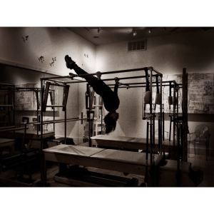 Hanging Between Shifts at Romney Pilates Center. New Orleans.  January 2016. Photo: MBuffett